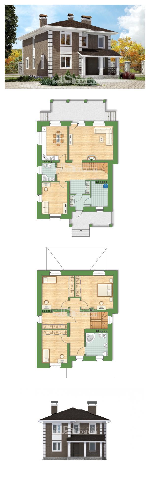 Проект дома 185-002-П | House Expert