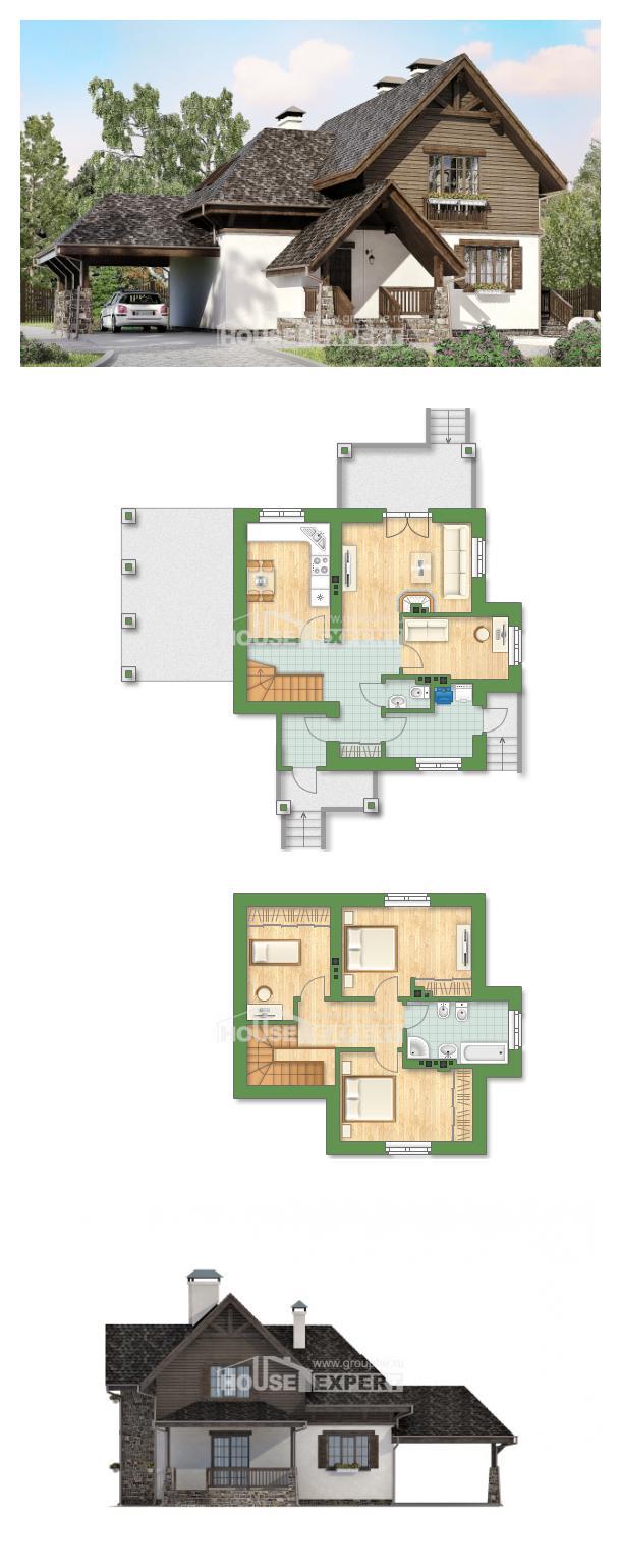 Проект дома 160-002-Л | House Expert